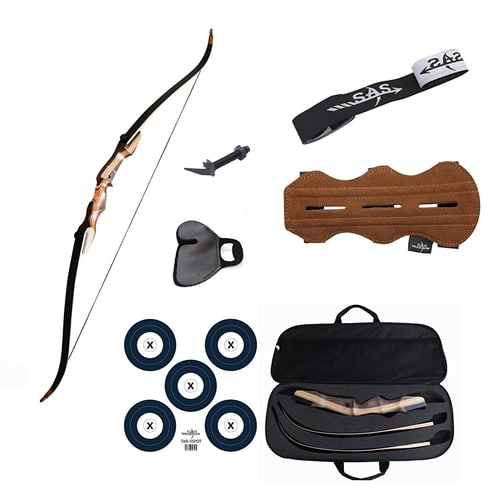 Samick Sage Take Down Recurve Bow Combo Package Kit.best recurve bows